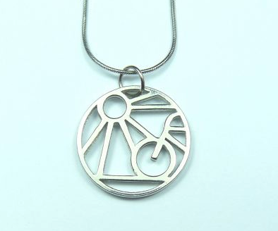 Bike Ride Necklace sold on behalf of Koa Jewellery