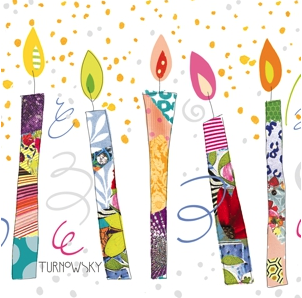 Birthday Candles Napkins