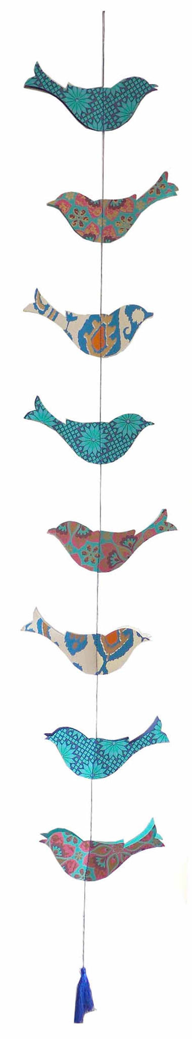 Hanging Paper Bird Decoration