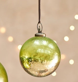 Nari Giant Bauble - Antique Green - Small