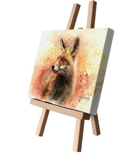 Frankie the Fox Canvas Cutie 15x20cm by Bree Merryn