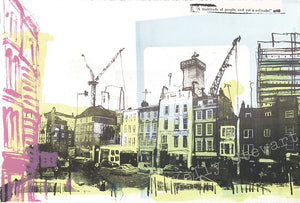 The Shard screen print sold on behalf of Kelly Stewart