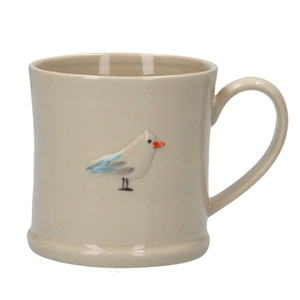 Ceramic Mini Mug with Seagull