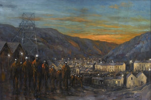 South Wales Mining Valley 61 x 40 cm print Sold on Behalf of Valerie Ganz