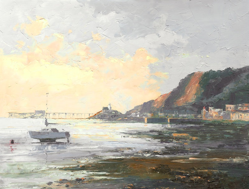 First Light Mumbles Ltd Ed Print sold on behalf of R N Banning
