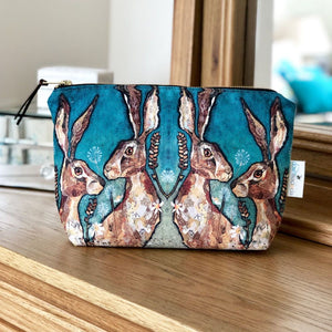 Make up bag Together Hares