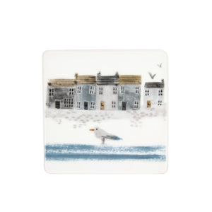 Coastal Scene Ceramic SQ Coaster