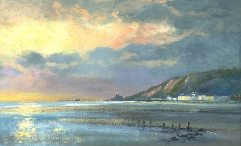 November Morning Mumbles Ltd Ed Print sold on behalf of R N Banning