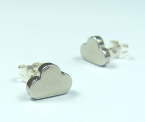 Cloud Earstuds sold on behalf of Koa Jewellery