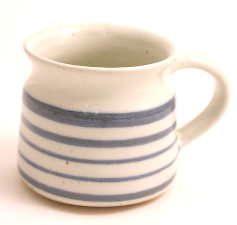 Blue Stripe Ceramic Mug