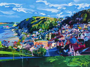Houses of Mumbles ltd ed print sold on behalf of Michelle Scragg