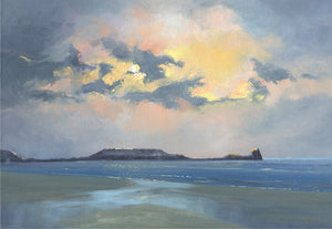 November Rhossili Giclee Print sold on behalf of R N Banning