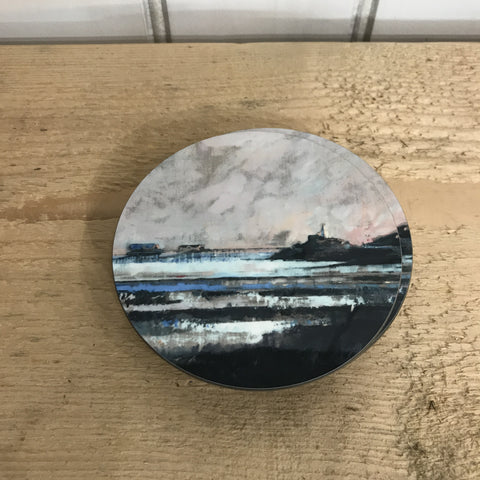 Milk Sea Coaster RD 10cm