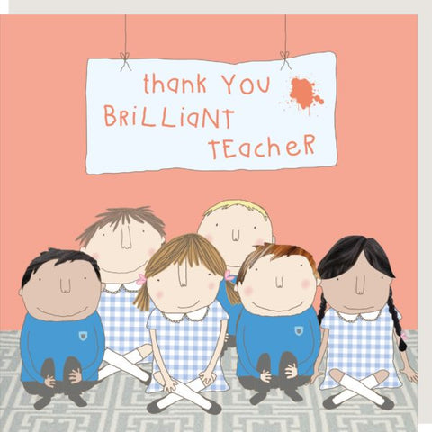 Brilliant Teacher Greetings Card
