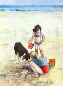 Summer Treasure Ltd Ed Print sold on behalf of Arwen Banning