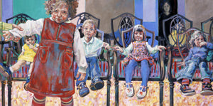 Musical Chairs Ltd Ed Print sold on behalf of Arwen Banning