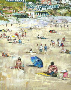 Langland Lifeguard End Ltd Ed Print sold on behalf of Arwen Banning