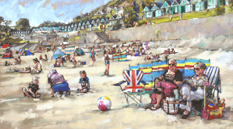 Jubilee Summer Oversize Ltd Edition Giclee Print sold on behalf of Arwen Banning
