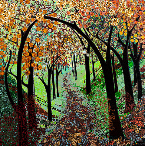 Autumn Tree Tunnel sold on behalf of Katie Allen