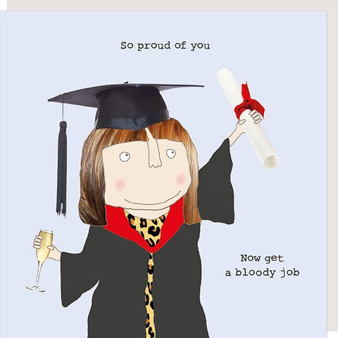 Grad Get a Job Greetings Card