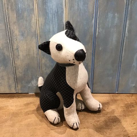Patch Bull Terrier Doorstop
