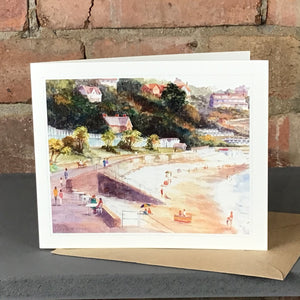 A SUMMERS DAY LANGLAND GREETINGS CARD SOLD ON BEHALF OF R N BANNING