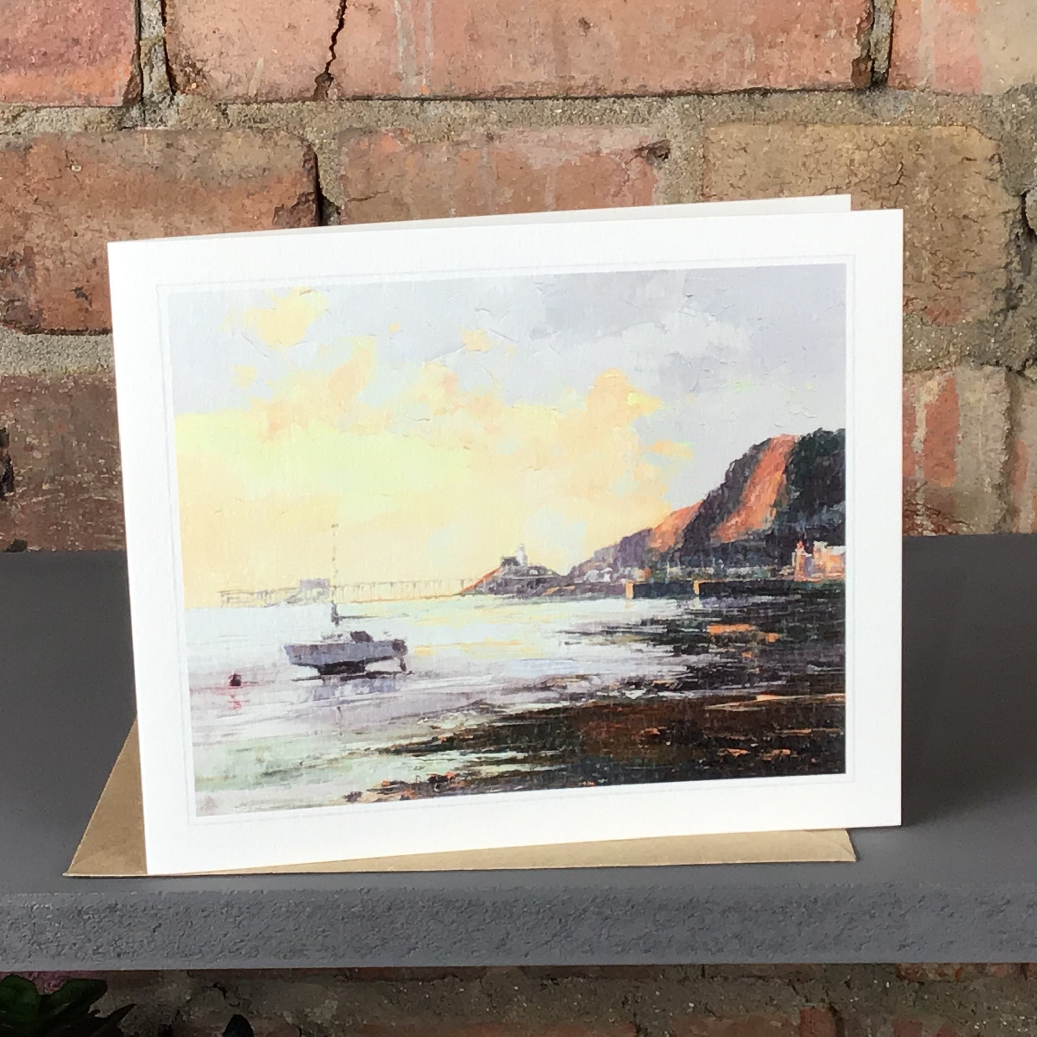 FIRST LIGHT MUMBLES GREETINGS CARD SOLD ON BEHALF OF R N BANNING