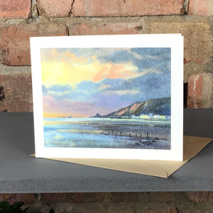 NOVEMBER MORNING MUMBLES GREETINGS CARD SOLD ON BEHALF OF R N BANNING