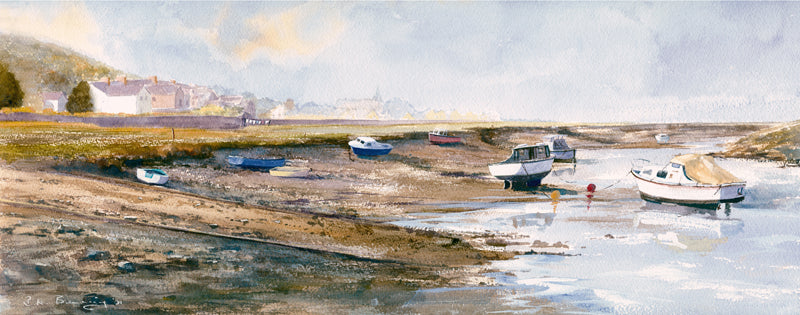 The Estuary Penclawdd Print sold on behalf of R N Banning