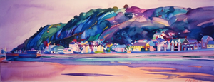Mumbles Bay 2A ltd ed print sold on behalf of Michelle Scragg