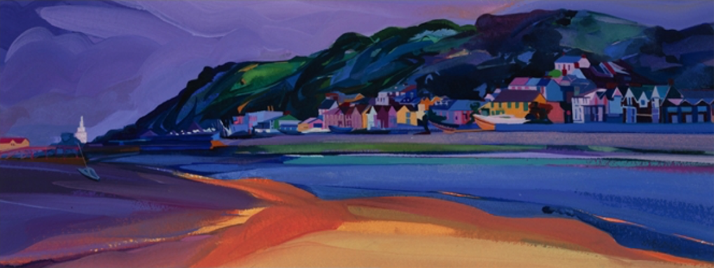 Mumbles Bay ltd ed print sold on behalf of Michelle Scragg