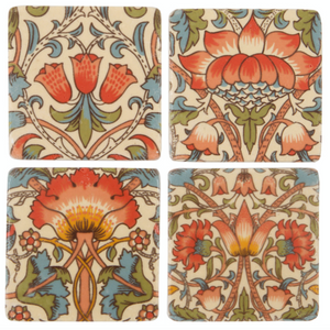 Lotus Flower Coasters Set of 4