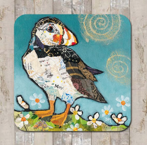Coaster May (puffin) by Dawn Maciocia