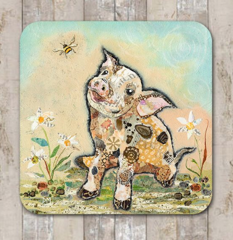 Coaster If Pigs Could Fly by Dawn Maciocia
