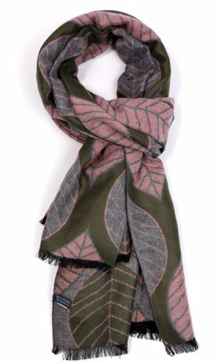 Terry Leaf Scarf