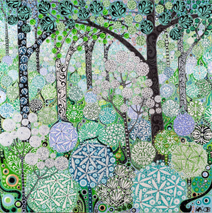 Wild Garlic Woodland sold on behalf of Katie Allen