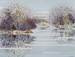 Winter Reflections Oxwich Marsh sold on behalf of Katie Allen