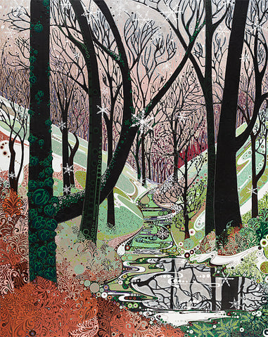 Winter Woodland sold on behalf of Katie Allen