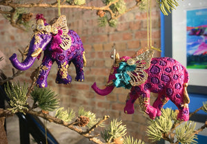 Fantasy Elephant Resin/Metal Dec 3as