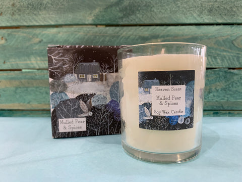 Winter Range natural plant wax Candles 20cl