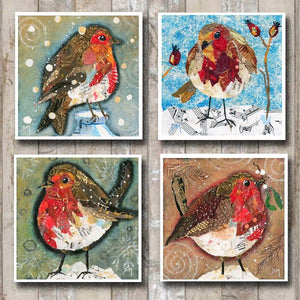 Robin Card Collection - 8 pack
