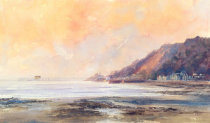 September Morning Mumbles Ltd Ed Print sold on behalf of R N Banning