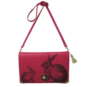 Heritage and Harlequin Rabbit Clutch Bag