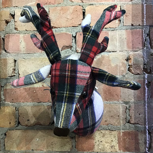 Stag Fabric Wall Head