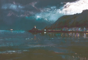 Mumbles Lights Square Print sold on behalf of R N Banning