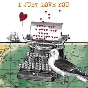 Just Love You Napkins 33x33 cm