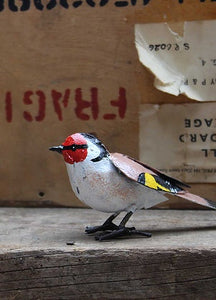 Goldfinch Recycled Metal