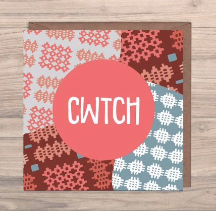 Cwtch - To Cuddle Card