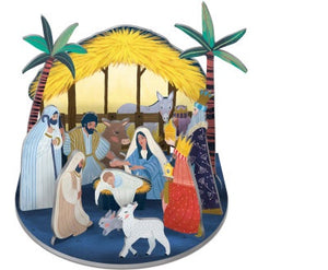 Nativity Pop & Slot Small - POP078