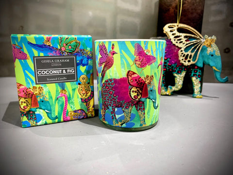 Fantasy Animals Boxed Candle Pot, Sml